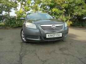 010 VAUXHALL INSIGNIA SE CDTI ECOFLEX 2.0 DIESEL ESTATE,MOT AUG 021,1 OWNER FROM NEW,PART-HISTORY