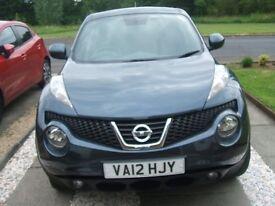 Nissan juke acenta sport dci diesel h/b, july 2012, 43,000 mls, £7,250
