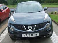 Nissan juke acenta sport dci diesel h/b, july 2012, 43,000 mls, £7,750 ono