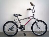 "(1830) 20"" 12"" Lightweight Steel UNIVERSAL BMX BIKE BICYCLE; 360 GYRO; Age: 11+; Height: 147-193 cm"