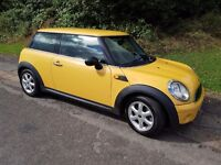 2008 MINI COOPER 1.4 PETROL 3 DR FACELIFT MOT DEC 2017 SERVICE HISTORY ALLOY WHEELS DRIVES BRILLIANT