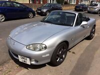 Mazda MX-5 MK2.5 SV-T model 1.8 litre 146 bhp Heated Leather Refurbished Alloys Low Miles Stereo