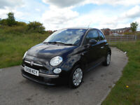 FIAT 500 POPULAR HATCHBACK BLACK £30 TAX PART EXCHANGE TO CLEAR BARGAIN ONLY £1495 *LOOK*