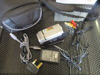 SONY Camcorder DCR-SX30 with camera case, USB, power adaptor etc
