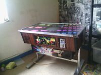 1980 PUB GAMING 2 PLAYER TABLE