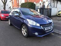 2012 PEUGEOT 208 1.6 ALLURE. ONLY 22k MILES. Cruise control. Half Leather Interior. 2 Owners. A/C.