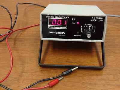 Vwr Scientific - Model 1054 - Specific Conductance Meter