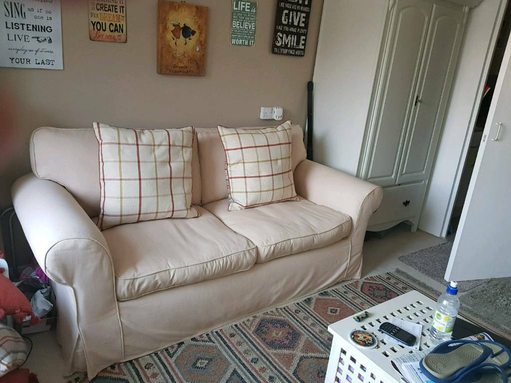3 Seater Sofa With Removable Washable Covers In Bognor Regis West