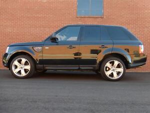 2012 Land Rover Range Rover Sport HSE -- LUXURY -- BLACK ON BLAC