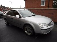 2004 ford mondeo tdci{towbar,cruise control,2 keys,climate control}6 speed box