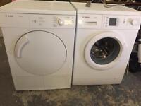 Wash machine and tumble dryer
