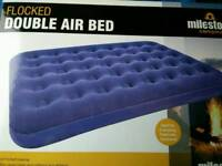 Double airbed. NEW