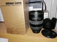 Nikon 17-55mm F 2.8 dx
