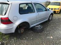 Vw golf mk4 1.8t breaking