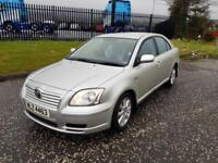 2004 toyota avensis t2 d4d full years mot