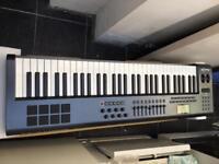 M audio axiom 61 key semi weighted USB midi controller