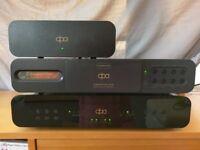 DPA (Deltec Precision Audio) Enlightenment Drive & SX128 DAC (two-box CD player with separate psu)