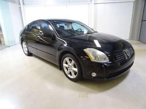 2004 Nissan Maxima 4Dr Sedan SE 5-Seat at Cuir/Mags/Sieges Memoi