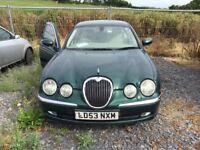 Jaguar S Type Spares or Repair