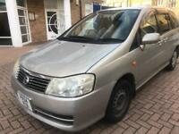 2004 NISSAN LIBERTY 2.0 7 SEATER ONLY £1100