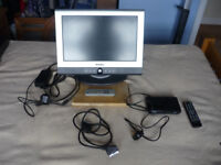 17 inch TV and Freeview Digibox for sale