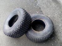 2 x quad tyres