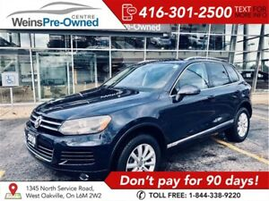 2014 Volkswagen Touareg NAVIGATION BLUETOOTH TOWING PACKAGE