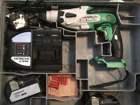 Hitachi 18v cordless sds