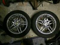 Pair of Alloys from Trike