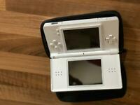 Nintendo DS with 3 games and zip protection case