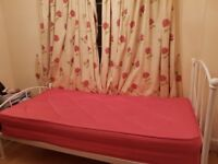 Single bed with matress good condition