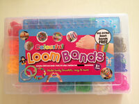 NEW COLOURFUL LOOM BANDS WITH 500 EXTRA LOOM BANDS