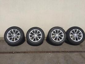 Audi Q5 Alloys With Tyres
