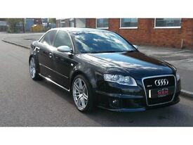 Audi RS4 Saloon 4.2 Quattro 4dr£14,495 p/x welcome LOW MILEAGE,VERY GOOD VALUE