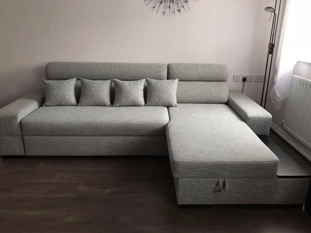 Corner three seater Sofa Bed