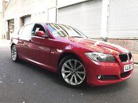 BMW 3 SERIES 2009 2.0 318d SE 4 door F/S/H, 2 OWNERS, FACELIFT, 6 MONTHS WARRANTY, BARGAIN