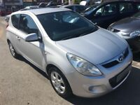 2010/59 HYUNDAI I20 1.2 COMFORT,3 DOOR,SILVER,EXCELLENT ECONOMY,LOOKS AND DRIVES REALLY WELL
