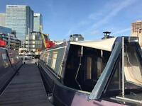 1 bed narrow boat for sale in Canary Wharf