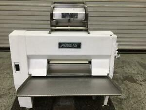 ANETS Dough Roller Sheeter Double Pass Through SDR21 Rolling Machine Pizza - Refurbhised