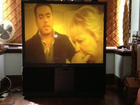 sony KP-53S4U Rear projection tv