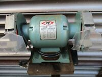 heavy duty bench grinder plus metal stand