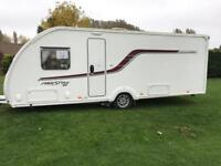 Swift Freestyle SE 4B 2015 caravan with motor mover
