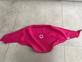 Bugaboo bee canopy in hot pink
