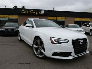 2014 Audi A5 2.0T Progressiv - H. Leather, B.T., Wheel Pkg