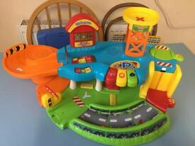 Vtech toot toot drivers garage plus 10 cars