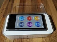 Apple Ipod Nano (A1446 - 7th Gen) 16gb space grey with box