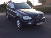 Mercedes ML270 CDI Diesel Automatic 2003 ***Full Service History *12 Months Mot***