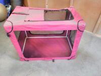 Folding Dog crate.