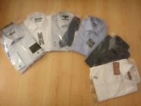 "6 long sleeved shirts (15"" collar size)"