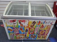 Used icecrem freezer in good working condition